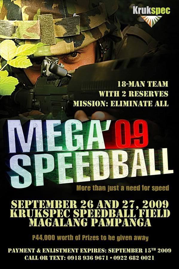 Krukspec Mega '09 Speedball