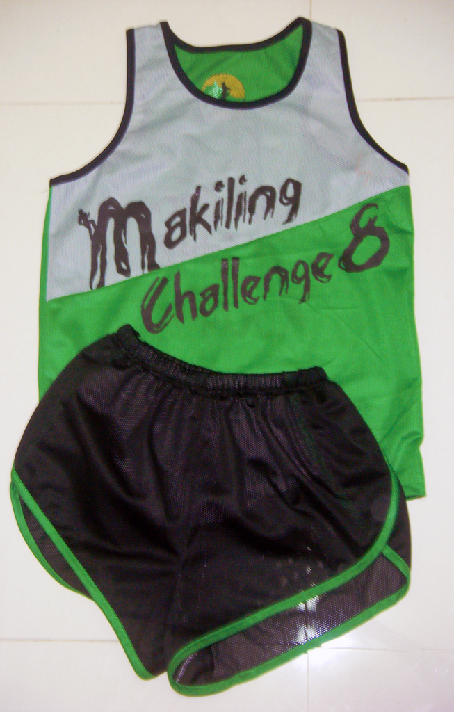 Singlet and Limited Edition Macrunners Short
