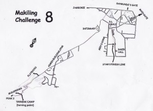 Makiling Challenge 8 Race Map