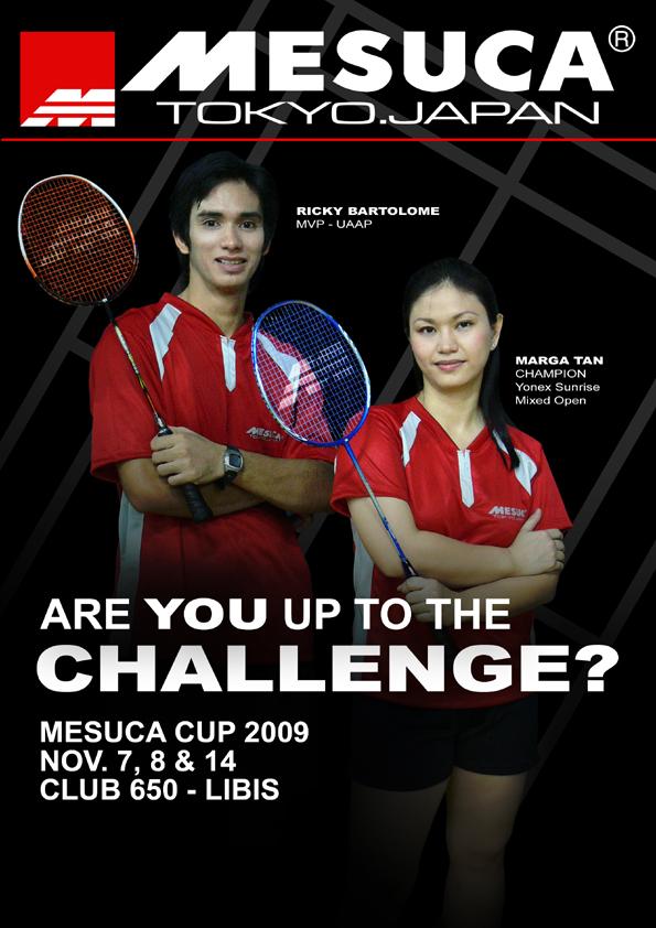 MESUCA CUP 2009-poster