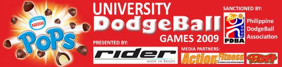 University Dodgeball Games 2009