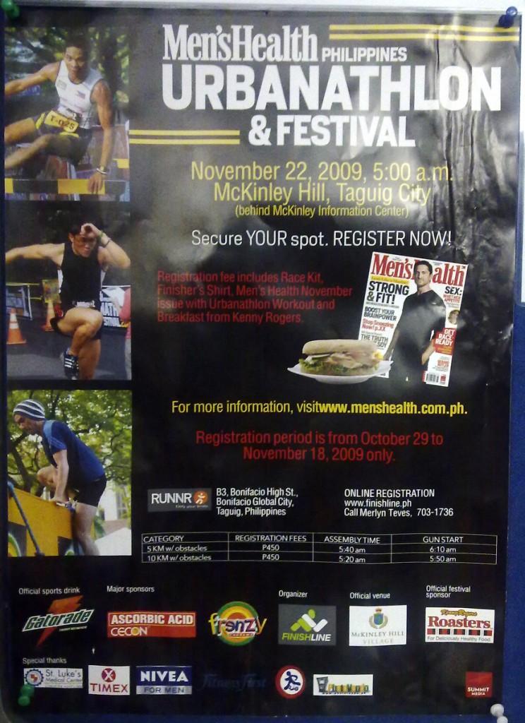 men's health urbanathlon and festival 2009